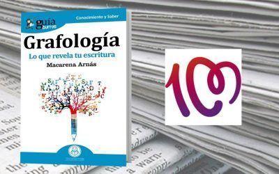 Cadena 100 ha reseñado en su página web el «GuíaBurros: Grafología»